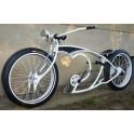 custom bike White